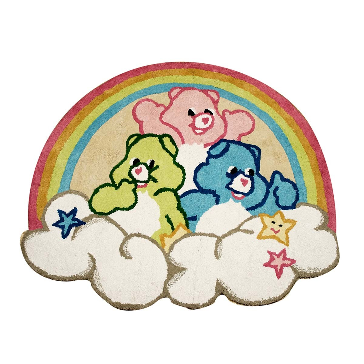 Covor copii multicolor din bumbac 100% Teddy Star bbc 130x120