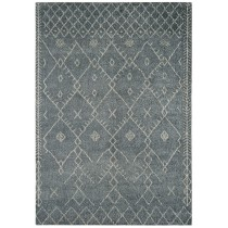 Covor gri din lana 100% innodate manual , grosime 18mm,greutate totala 3500gr/mp