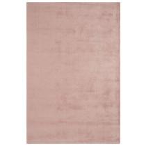 Covor roze din lana 60% si vascoza 40% tesute manual,grosime 18mm,greutate totala 3500gr/mp