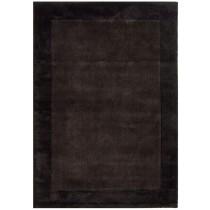 Covor maro din lana 65% si vascoza 35%, tesute manual,grosime 8mm,greutate totala 2100gr/mp