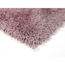 Covor roz din poliester 100%, tesut manual ,grosime 8mm,greutate totala 2200gr/mp