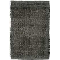 Covor gri din lana 70% , vascoza 23%, si bumbac 7% ,  tesut manual, greutate totala 3000gr/mp