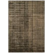 Covor maro din vascoza 60% si lana 40%, tesut manual ,grosime 10mm,greutate totala 2600gr/mp