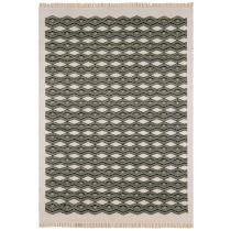 Covor colorat din lana 80% si iuta 20%,tesut manual , greutate totala 1100gr/mp