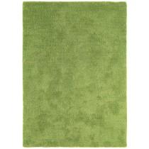 Covor verde din poliester 100%, tesute manual, grosime 9 mm,greutate totala 1400gr/mp