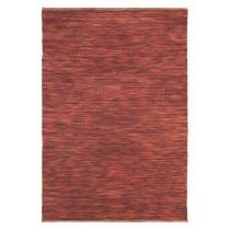 Covor rosu din lana 100%,tesute manual, grosime 20mm,greutate totala 3400gr/mp