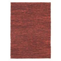 Covor rosu din lana 100%,tesute manual, grosime 25mm,greutate totala 3800gr/mp