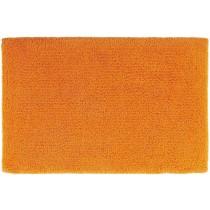 covor orange din bumbac 100%,  tesut manual  ,greutate totala 2200gr/mp