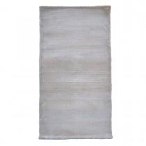 Traversa alb din poliester 100% Graceland  70x140