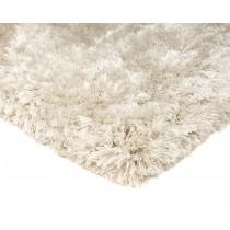 Covor alb din 100% POLYESTER Plush 160x230