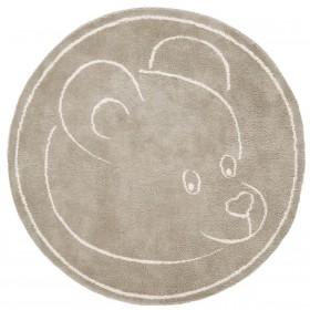 Teddy Beigecircle - 100x150