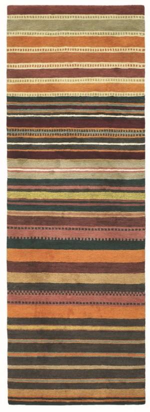 Covor colorat din lana 100%, lana Tibet innodat manual,grosime 15mm,greutate totala 5200gr/mp